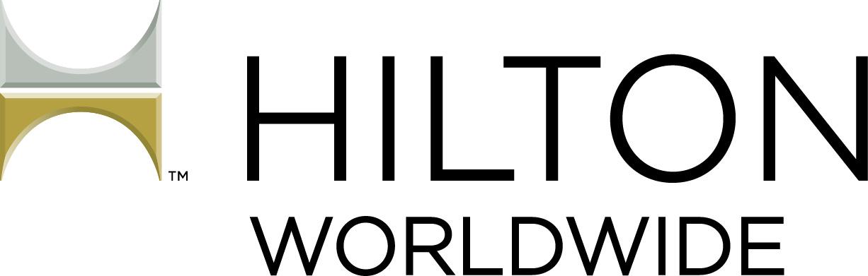 HiltonWW HORIZ Bevel 4C Logo Blk type_CS4