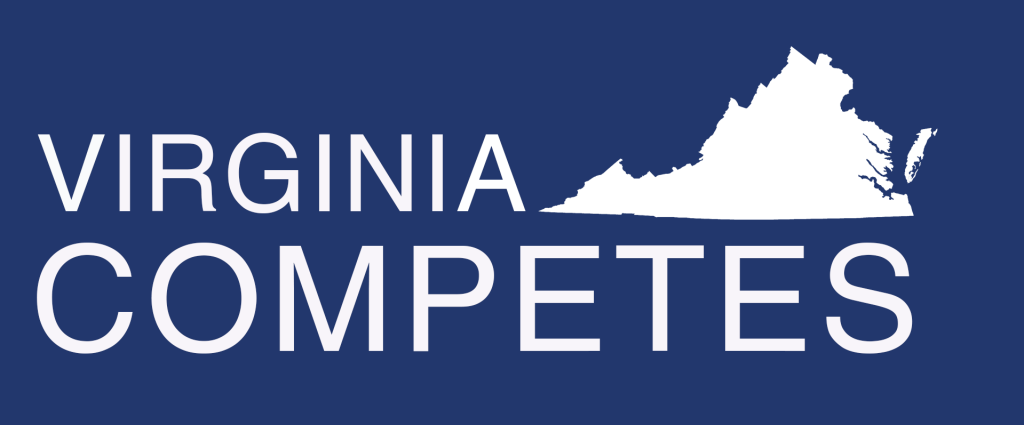 Virginia competes logo draft